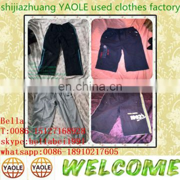 lady and men sport short pants used clothes singapore second hand items