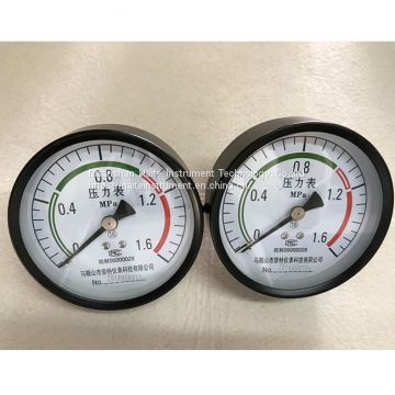 100mm Back Centre Brass Connector Dry Pressure Gauge