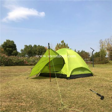 Trekkers, Campers Tent 3 Person Camping Tents Double Layer Aluminium Pole