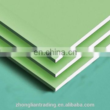 Construction real estate insulated Gypsum Plasterboard for Ghana