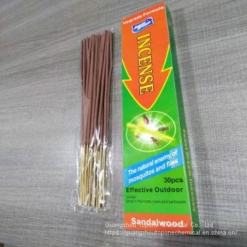 Kukasa China Good Fragrance Sandalwood Safe Incense Stick with OEM