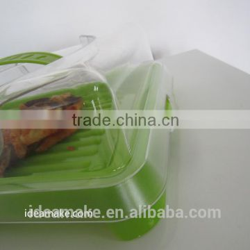 Cool Box Food Storage Box with Cooling Element made from Plastic for Food and Fish 2015 new product