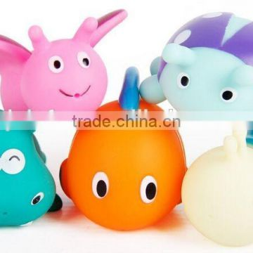 animal series sets bath toy for baby,sea squirt animal sets bath toy for children,sea world Water spray toys for bathing