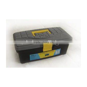 "12.5"" plastic tool box with handle for carring"