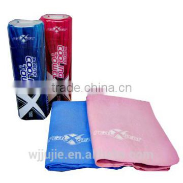 Microfiber suede cool sports towel