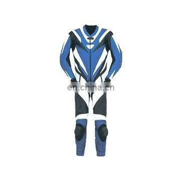 Leather Motorbike Racing Suit (L-S 035)
