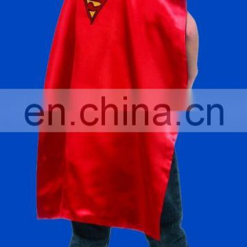 Y1038 kids Superman Batman Cape avaliable with red and red colour