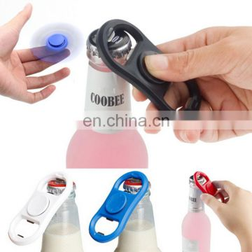 2017 New Fidget Toys Pattern Hand Spinner Metal Fidget Spinner and bottle opener kit
