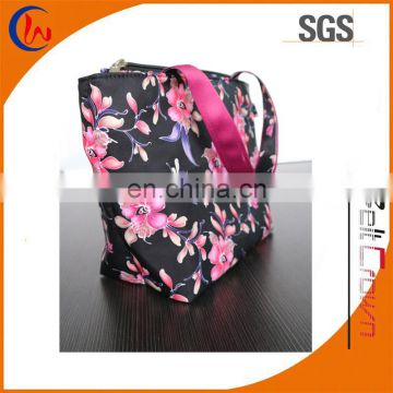 2017 New style 450D Polyester shopping Bag Customized fashion polyester bag