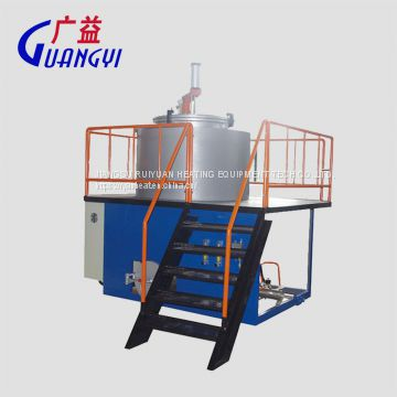 vacuum calcination furnace for clean polymer from spinning nozzle