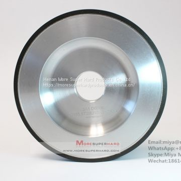 3A1 Resin Bond Diamond Grinding Wheel for carbide tools made in china miya@moresuperhard.com