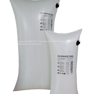 PP woven dunnage bag with MV and  SV in various dimension for container security