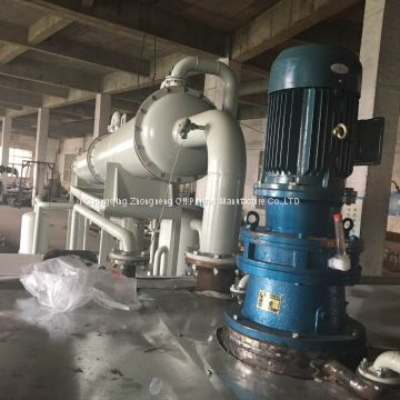 BOD Black Dirty Oil Distillation Machine, Base oil producing plant
