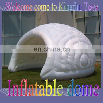 Outdoor advertising inflatable luna dome shell