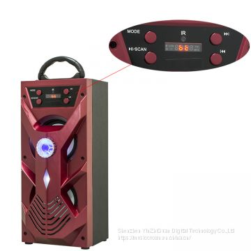 2018 Trending Led Light High Quality Outdoor Blue tooth speaker with Karaoke function and Remote control