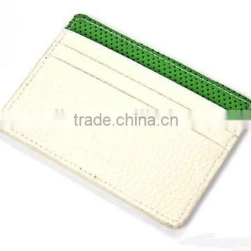 PU leather ID wallet