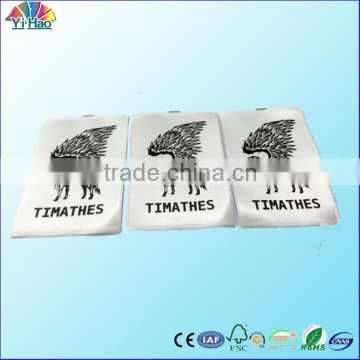garment printed label ,clothing printed label, high quantity print label