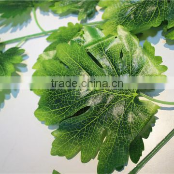 Home and outdoor garden table wedding christmas decoration 60cm or 2ft Height artificial colorfully maple leaf E06 0638