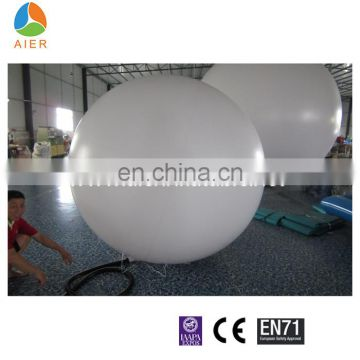 7ft - 13ft Round shape promotional indoor wholesale balloons / hydrogen balloon for promotion
