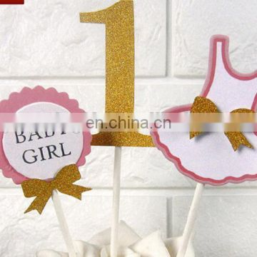 1st birthday party decorations birthday banners balloons pompoms confetti foil balloons 1st girl birthday set