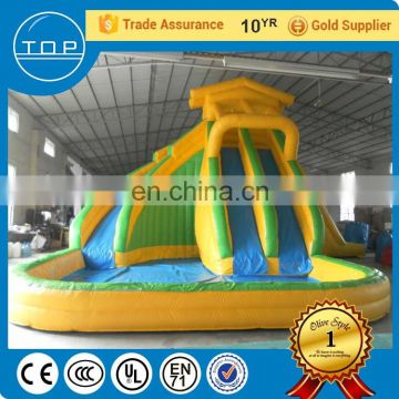 Professional baby bouncer used swimming pool water slide for fun