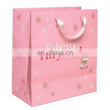 New style paper packaging gift bag