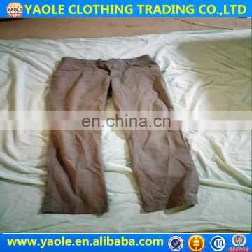 import second hand clothes,used pants ,china low price used clothes in bales