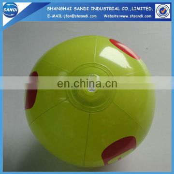 2015 new design kids toys PVC inflatable ball