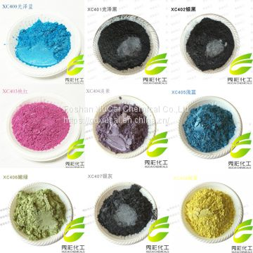 Multi Color Dyestuff Mica powder pearl pigment