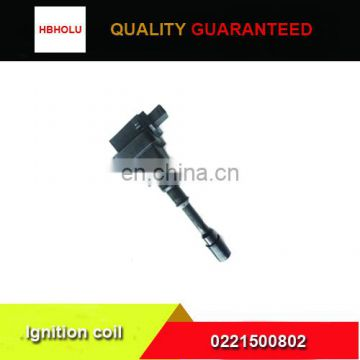 Hafei BYD ignition coil 0221500802 with high quality
