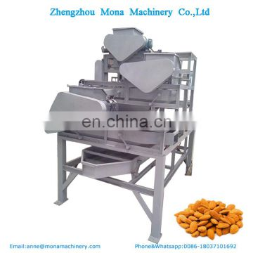 1000-1500kg/h Automatic almond shelling machine