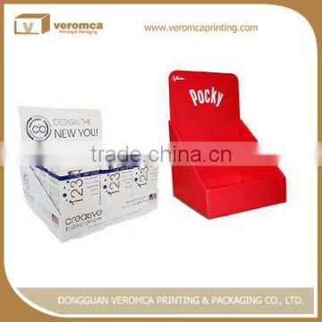 Hot selling cardboard flood retail display