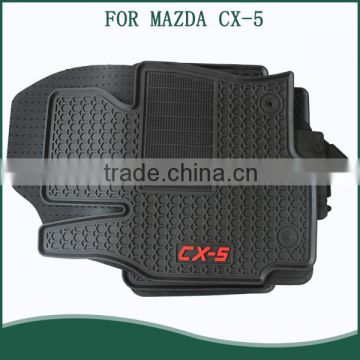 2016 All Weather Latex Floor Mats Rubber Mat Set For Mazda