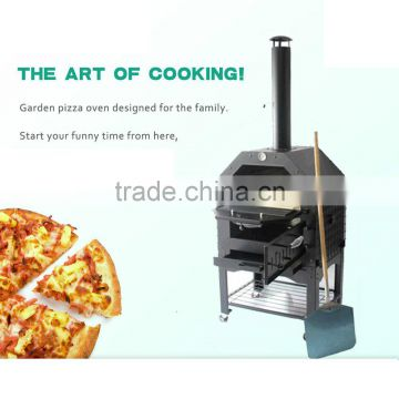Baking and Smoking Pizza Oven