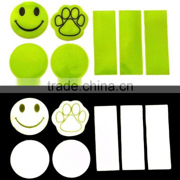 Fluorescence REFLECTIVE Decals Night Safety Warning stickers