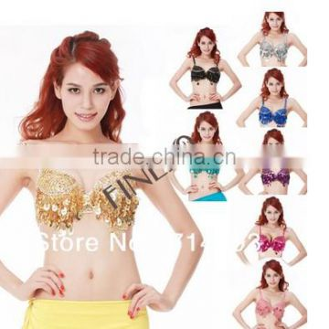 2015 women's sexy grape beads 9 colors belly dance sexy mature underwear sexy bra 17322