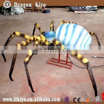 Realistic simulation insect spider model for museum