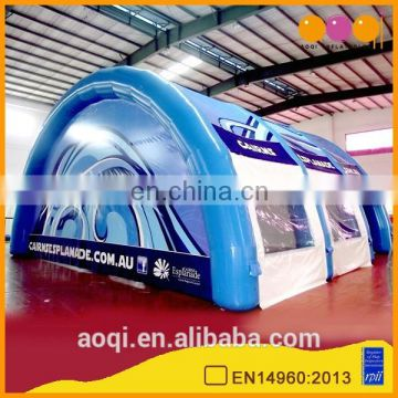 AOQI cheap price outdoor inflatable sealed air tent for sale