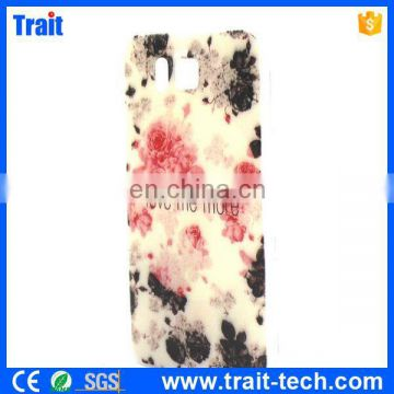 For Samsung Phone case , Colorful Painting TPU Back Case for Samsung Galaxy Alpha