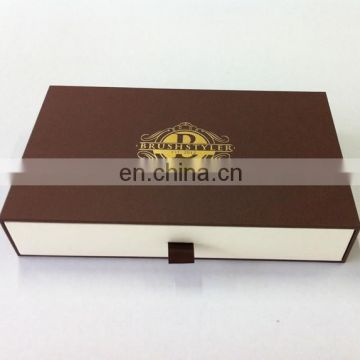 Years of Experience Factory Luxury Style Design Brown Paper Scarf Storage Nice Box
