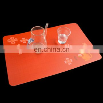 wholesale colouring custom printed plastic placemat