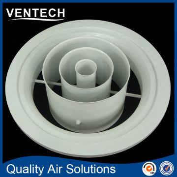 standard sizes jet air diffuser hvac round ceiling ring diffuser