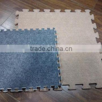 Carpet Bonded Eva Foam Floor Mats Eco
