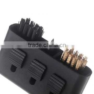 Golf Brush Bike Tire Tyre Groove Cleaner Pocket Carry Plastic Club Tool Lightweight Portable