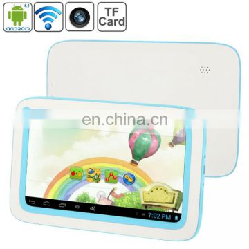 Free sample tablet pc ,Kids Education Tablet PC, 7.0 inch, 512MB+4GB, drop shipping tablet