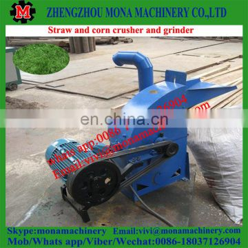 animal feed hammer mill and mixer connect together