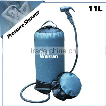(74674) new design hot sales patent portable solar outdoor camping pressure shower                                                                         Quality Choice