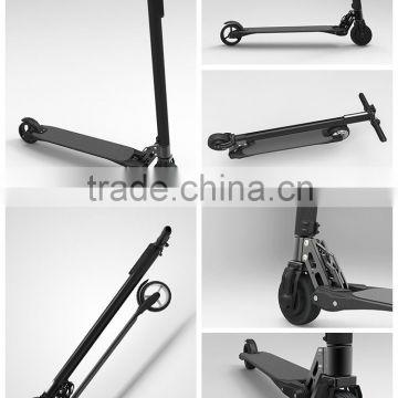 Jack Hot 2016 Hot Carbon Fiber Electric Scooter The lightest Mobility Scooter Only 6.9KG with 8.8AH LG Battery                                                                         Quality Choice