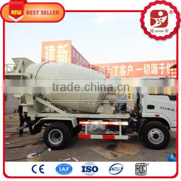 Superior 8 cubic meters concrete mixer truck with hydraulic pump by  electric motor driven for sale with CE approved