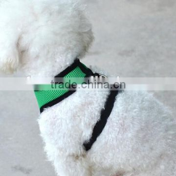 New design mesh fabric pet harness/dog harness